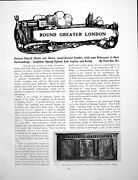Antique Old Print Ancient Church Chests Greater London Loughtonpages 1926