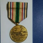 United States Southwest Asia Service Military Medal Gulf War And Ribbon Bar