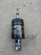 Tapmatic 70x Reversible Tapping Head, 10-5/8 Capacity. Used 2mt