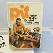 Pit Card Game With Bell Complete 1973 Vintage