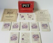 """Vintage 1919 Bull And Bear Edition """"pit"""" Parker Brothers Card Game"""