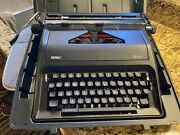 Royal Epoch Manual Portable Typewriter Excellent Condition With Black Case