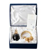 Faberge Limited Edition Perfume Atomizer St Louis Blue Crystal Rare Numbered