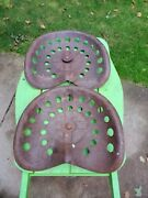 2 Tractor/ Farm Implement Seats 17andtimes13 1/2