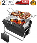 New Charcoal Barbecue Grill Portable Suitable For Outdoor Campingpicnic Backpa