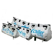Insulated Chiller Fish Storage Keeper Bags With Drain - Heavy Duty Zipper Straps