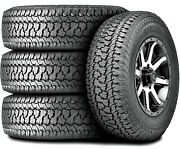 4 Tires Kumho Road Venture At51 Lt 225/75r16 Load E 10 Ply A/t All Terrain