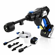Mrliance Battery Power Washer Portable Power Washer Cleaner Cordless Pressure
