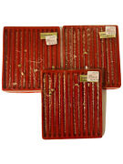 39 Vintage Ristals Twist Spun Clear Glass Icicles Christmas Ornaments 5.5andrdquo Long