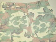 Us Army Vietnam Special Forces Navy Seal Erdl Camo Jungle Pants Exc Vtg Trousers