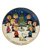 Danbury Mint Peanuts Magical Moments Merry Christmas Charlie Brown Plate A603