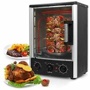 Upgraded Multi-function Rotisserie Oven - Vertical Countertop Oven With Bake,
