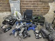 Massive Playstation, Xbox, Nintendo Systems And Parts Lot Untested
