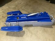 Vintage Rc Nitro Outrigger Hydroplane Boat