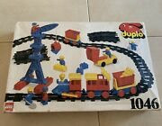 Lego Duplo Train Set 1046 From 1986 - Rare And Complete