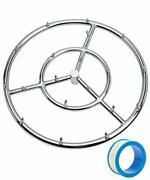 18 Inch Round Fire Pit Burner Ring Jet Burner Ring For Gas Or Propane Fire Pit