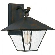 Corporal - 1 Light Large Outdoor Wall Lantern In Transitional Style - 10.5