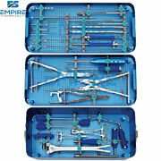 Instruments For Spine Surgery Spinal Pedicle Screw System Instruments Set 31 Pcs