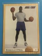 Shaquille O'neal Rookie Card 92' Classic. 104 Pristine Condition.