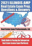 2021 Illinois Amp Real Estate Exam Prep Questions And An... By Fun Science Group
