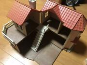 Sylvanian Families Large House And Doll Furniture Set With Lights