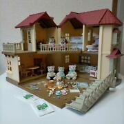 Sylvanian Families Large House With Light Furniture Doll Set
