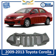 New Front Under Cover Engine Splash Shield For 2009-13 Toyota Corolla To1228148