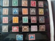 United States Stamps Collections Lots/series Of 1922-25