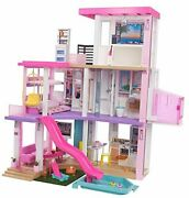 Dreamhouse 3.75-ft 3-story Dollhouse Playset With Pool And Slide Party Room