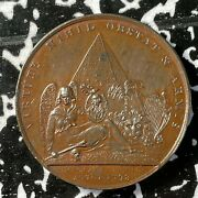 1798 Great Britain Battle Of The Nile Medal Lotjm3405 Bhm-450 38mm