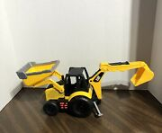 Toy State Industrial Cat Caterpillar Tractor Loader Play Music - Rare.