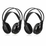 Joanbro 2 Sets Of Infrared Wireless Car Headphones For Rear Seat Dvd Systems, 2