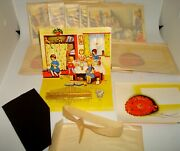 Lot 12 Vintage Pop Up Sewing Needle Books Japan 1 Dozen Nos Doll And Teddy Bear