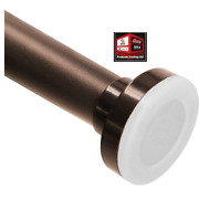 New, Refrze Bronze Shower Curtain Rod 26-42 Inches, Bathroom Curtain Rod
