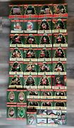 Lot Of 39 Coca-cola Trim A Tree Ornaments. All In Original Boxes. Very Nice