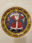Mary Engelbreit Limited Edition Christmas Plate Christmas Comes But Once A Year