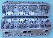 Oem Gm 3927186 Cylinder Heads Small Block Chevy Camel Hump May 1969 No Porting