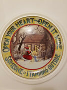 Mary Engelbreit Limited Edition Christmas Plate Open Your Heart