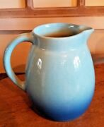 Roseville Pottery Ca.1953-54 Raymor Two Toned Casual Pitcher 1 Qt. R 15 - Usa