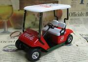 Out Of Print Gmp 1/16 Golf Cart Bank Coca-cola Spring 1996 Special Edition Cola