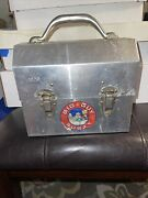 The Big Guy And Rusty The Boy Robot Metal Collectible Tin Metal Lunch Box
