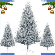 Artificial Flocked Christmas Tree White Christmas Tree Outdoor Tree Decorations