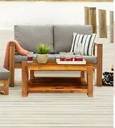 Boston Contemporary Solid Wooden Colonial Coffee Table Made To Order