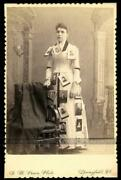 Amazing Photo Lady With Cabinet Photos Pinned To Dress Photographer Advertising