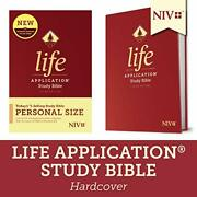 Niv Life Application Study Bible, Third Edition, Personal Size Hardcover Book