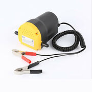 12v Electric Car Oil Pump 60w Extractor Transfer Engine Suction Pump For Boat