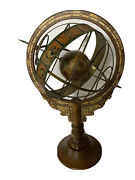"""Vintage Old Globe Zodiac Astrology Signs Astronomy 17"""" Tall """"used"""""""