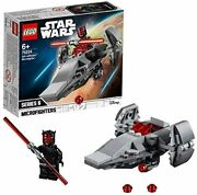Lego Star Wars Sith Infiltrator Micro Fighter 75224 Block Toy Boy