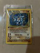 Machamp Pokemon Card Factory Sealed 1st Edition 1999 Mint Condition Wotc Holo
