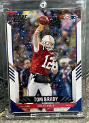 Tom Brady Hot 2021 Panini Chrome Sp Tampa Bay Buccaneers Investment Card - Mint